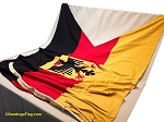 GERMANY with Eagle - 6x9ft Burgee  WOOL Vintage